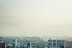 大阪市の街並みの写真素材 [FYI02059635]
