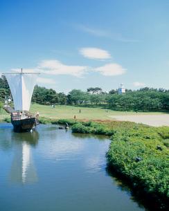 日和山公園 山形県の写真素材 [FYI02059655]