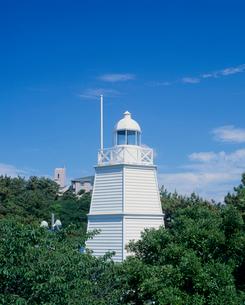 日和山公園の木造六角灯台 山形県の写真素材 [FYI02059675]