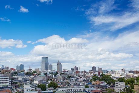 向山から望む仙台市の街並み 宮城県の写真素材 [FYI02060153]