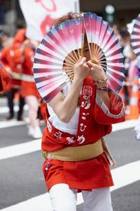 青葉まつりのすずめ踊り 宮城県の写真素材 [FYI02060209]
