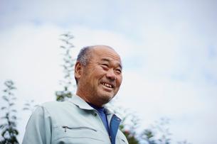 笑顔の農夫の写真素材 [FYI02060316]