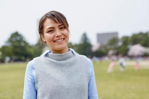 外国人女性のポートレートの写真素材 [FYI02060514]