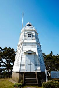 日和山公園の木造六角灯台 山形県の写真素材 [FYI02061403]