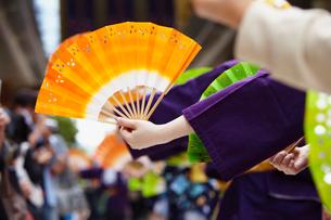 青葉まつりのすずめ踊り 宮城県の写真素材 [FYI02061505]