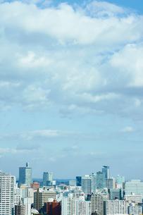 仙台市の街並みの写真素材 [FYI02061784]