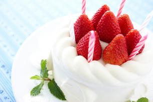 デコレーションケーキの写真素材 [FYI02062322]
