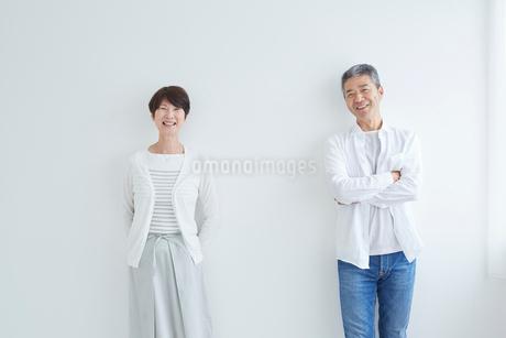 シニア夫婦のポートレートの写真素材 [FYI02062659]