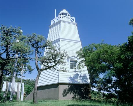 日和山公園の六角灯台の写真素材 [FYI02063149]