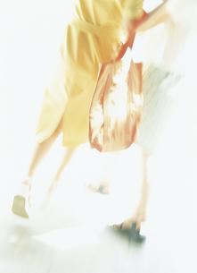 ウィンドウショッピングの女性2人後姿の写真素材 [FYI02063958]