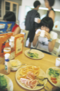 食事イメージの写真素材 [FYI02064972]