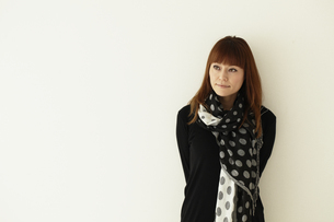 日本人女性の写真素材 [FYI02065215]