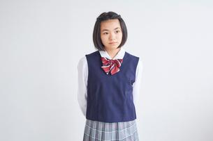 女子中学生の写真素材 [FYI02066801]