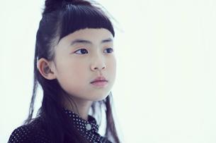 女の子のポートレートの写真素材 [FYI02067151]