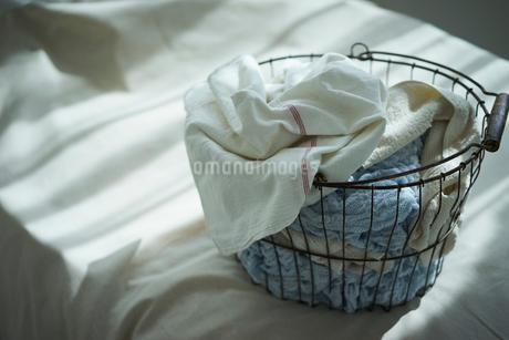 洗濯かごの写真素材 [FYI02067219]