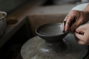 陶芸の写真素材 [FYI02067437]