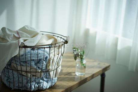 洗濯かごの写真素材 [FYI02067717]