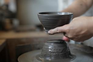 陶芸の写真素材 [FYI02067741]