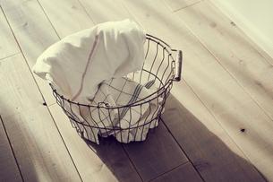 洗濯かごの写真素材 [FYI02067799]