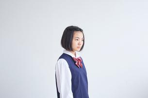 女子中学生の写真素材 [FYI02068405]