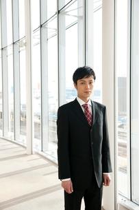 ビジネスマンのポートレートの写真素材 [FYI02069028]