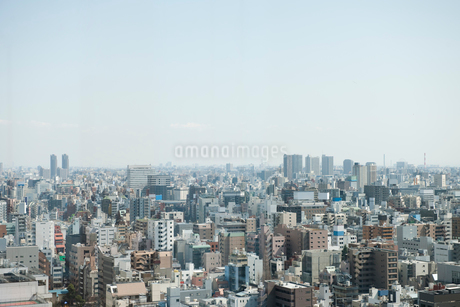 地上20階から見下ろした東京の街の写真素材 [FYI02069282]