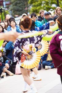青葉まつりのすずめ踊り 宮城県の写真素材 [FYI02071278]