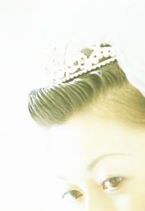 ウェディングドレスの女性アップの写真素材 [FYI02071365]