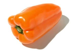 オレンジピーマンの写真素材 [FYI02071738]