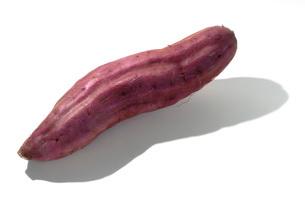 ベニアズマ(サツマイモ)の写真素材 [FYI02072148]