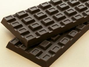 板チョコレートの写真素材 [FYI02072277]
