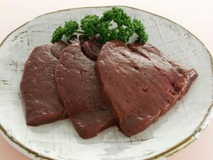 牛生肝の写真素材 [FYI02072676]
