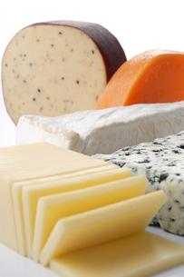 チーズ各種の写真素材 [FYI02073538]