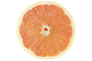 グレープフルーツ断面の写真素材 [FYI02073622]