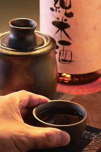 純米燗酒の写真素材 [FYI02073717]