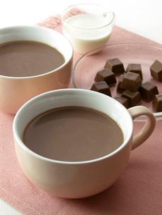 ココアとチョコレートの写真素材 [FYI02074267]
