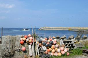 川汲漁港の写真素材 [FYI02074523]
