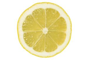 レモン断面の写真素材 [FYI02075177]