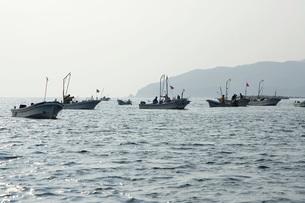 天然真昆布漁の写真素材 [FYI02075883]