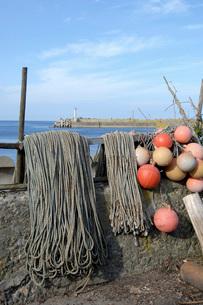 川汲漁港の写真素材 [FYI02075885]