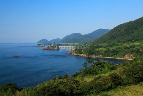 丹後松島と経ヶ岬の写真素材 [FYI02077258]
