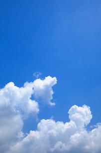 入道雲と青空の写真素材 [FYI02077579]
