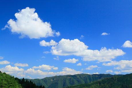 雲と空の写真素材 [FYI02078185]