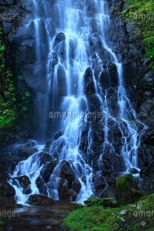 霧降りの滝の写真素材 [FYI02078407]