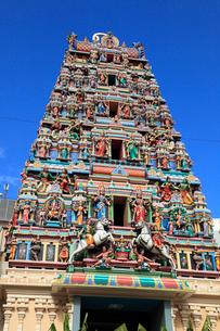 チャイナタウンのスリ・マハ・マリアマン寺院の写真素材 [FYI02080002]