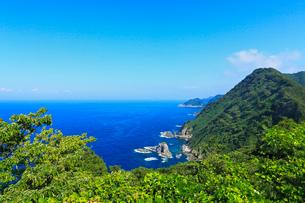 丹後半島 経ヶ岬の海岸の写真素材 [FYI02080158]