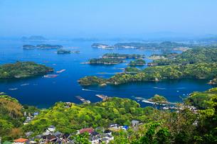 石岳展望台から望む九十九島の写真素材 [FYI02080467]