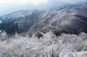 高見山の樹氷 台高山脈の写真素材 [FYI02080527]