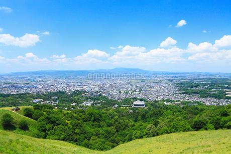 若草山より奈良市街の写真素材 [FYI02080885]