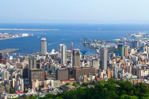 再度山から望む神戸市街の写真素材 [FYI02080925]